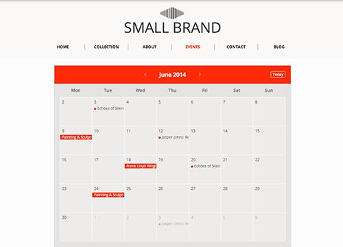 Events Calendar | Eventbrite App Marketplace